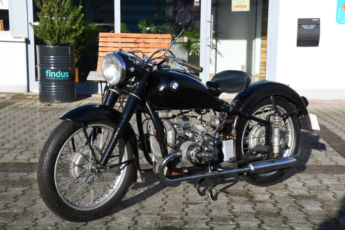 BMW R51/2 von 1950
