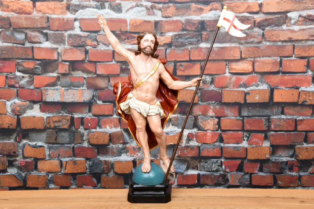 Antike Jesus Figur ca 1700