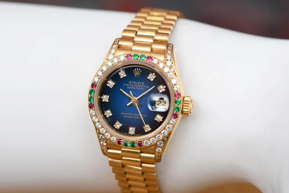 Rolex Oyster 69038 Datejust Damenuhr