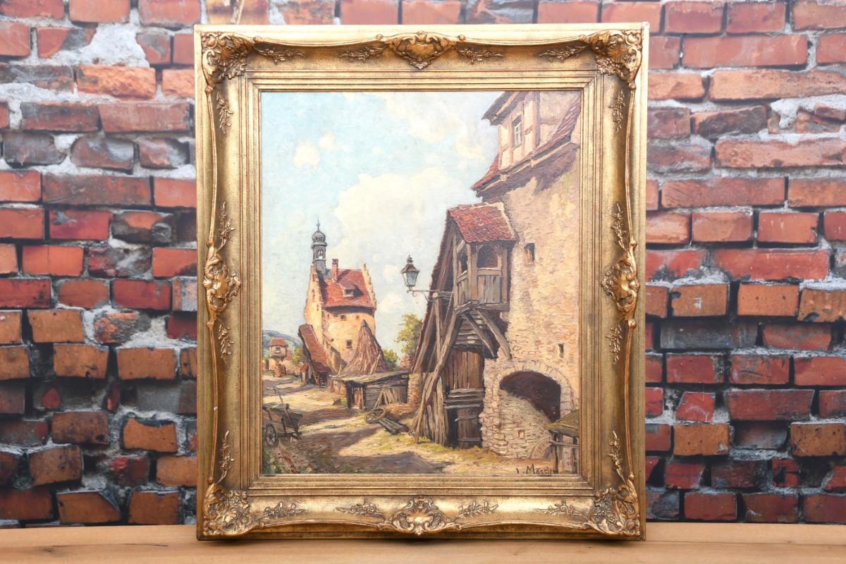 Ludwig Mössler Ölmalerei