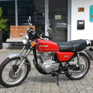 findus Verkaufsagentur - Referenzen - Kawasaki Z200 1978