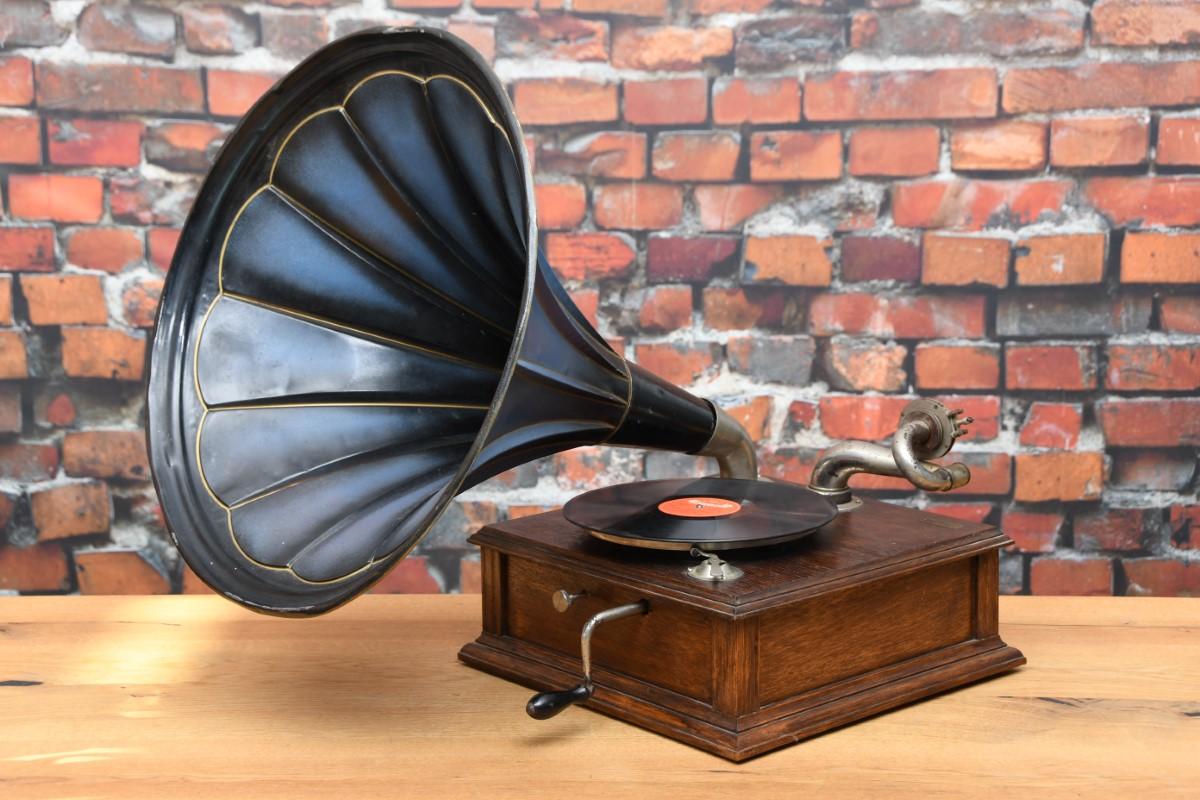 Tacke Trichter Grammophon 1910