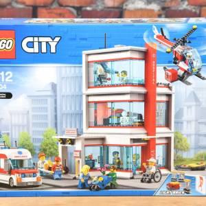 findus Verkaufsagentur - Referenzen - Lego 60204 Krankenhaus